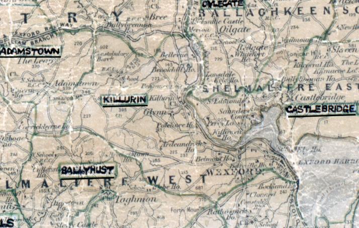 Killurin-Map-waterford