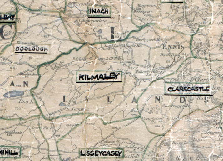Kilmaley-Map-limerick