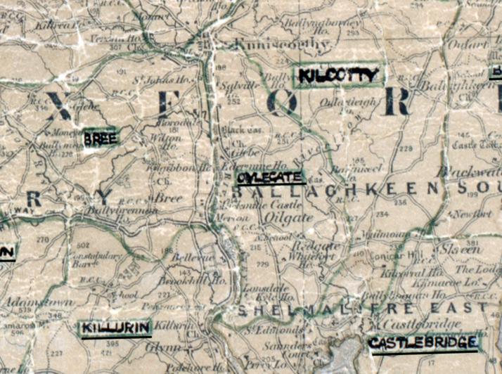 Oylegate-Map-waterford