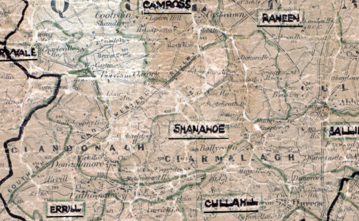 Shanahoe-Map-portlaoise