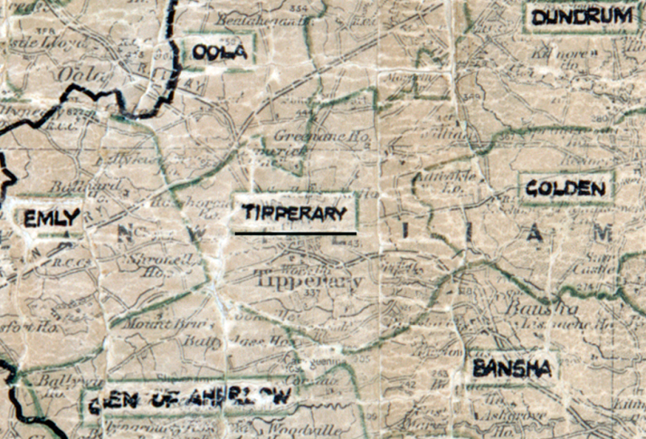Tipperary-Map-limerick
