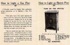 Ad for electric heater, Corporation Catalogue, 1911