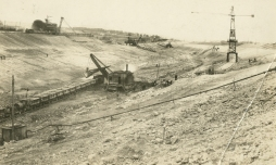 Early construction site 1926