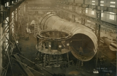 Working on the penstocks 1928