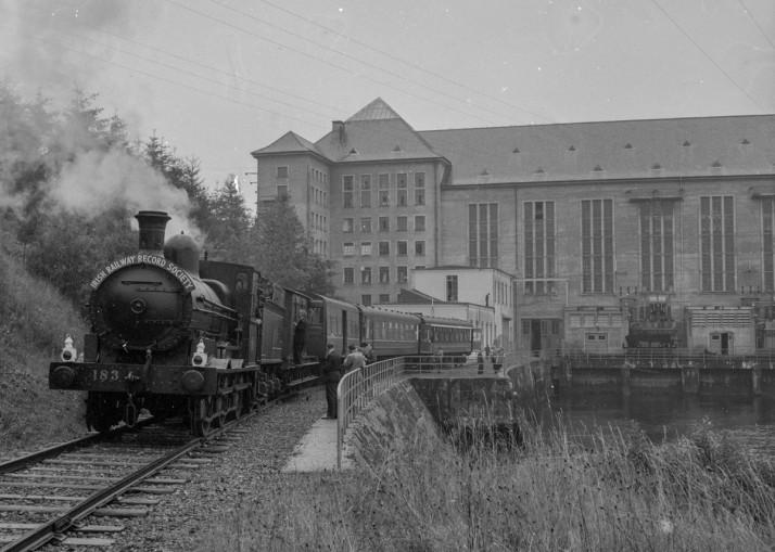 IRRS train at Ardnacrusha, 1 September 1962