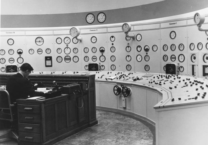 Ardnacrusha control room